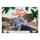 Island Greeting Holiday Photo Card