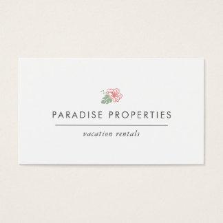 Island Hibiscus Business Card