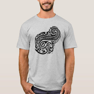 Island Hook Design T-Shirt