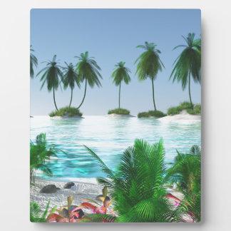 Island Hopping Plaque