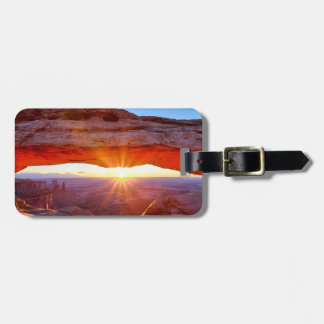Island in the Sky Luggage Tag