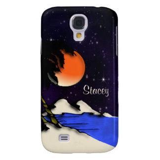 Island Night Personal Samsung Galaxy S4 Cover