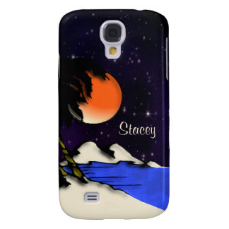 Island Night Personal Samsung Galaxy S4 Covers