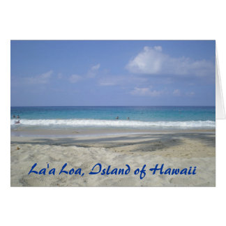Island of Hawaii Card