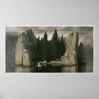 Island of the Dead, 1883 Arnold Bocklin Poster