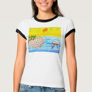 Island,Peggysue, T-Shirt