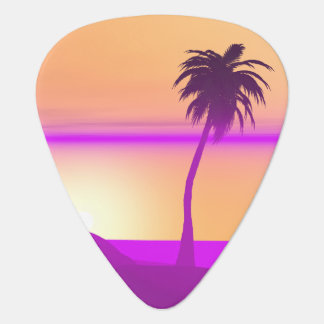 Island Purple and Gold Plectrum