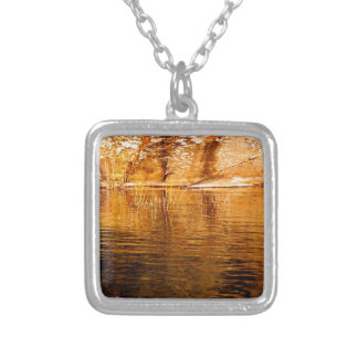 Island Reflections Silver Plated Necklace