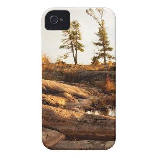Island rocky shoreline iPhone 4 cover