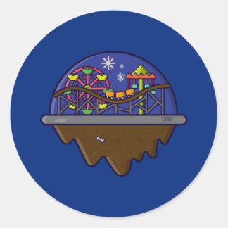 Island Serie - Carnival Island Sticker