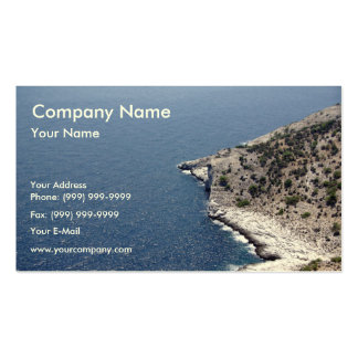 Island shore business card templates