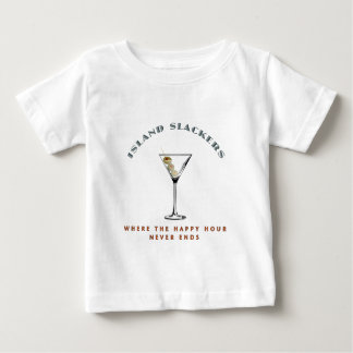 Island Slacker Happy Hour Baby T-Shirt