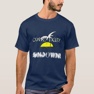 island, Sundown! - Customized T-Shirt