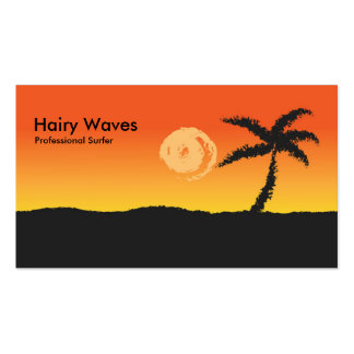 Island Sunset Pack Of Standard Business Cards