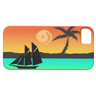 Island Sunset Case For The iPhone 5