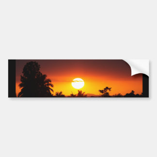 Island Sunset I Bumper Sticker