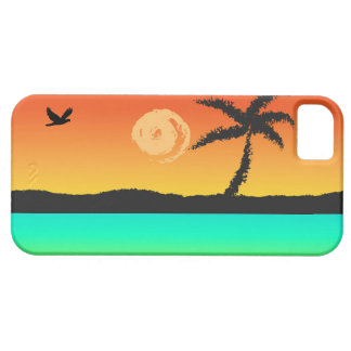 Island Sunset iPhone 5 Case