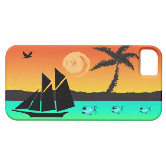 Island Sunset iPhone 5 Covers