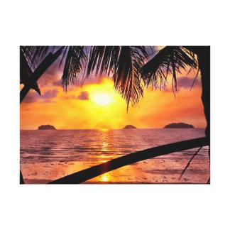 Island Sunset Koh Chang Canvas Print