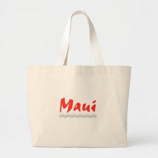 Island Sunset T-Shirts -Island Sunset Maui Graphic Jumbo Tote Bag