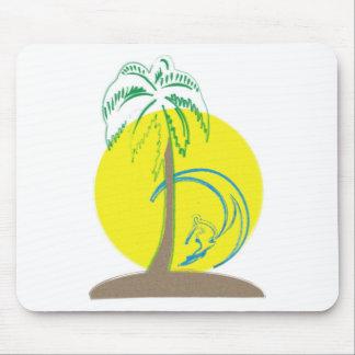 Island Surf Mouse Pad