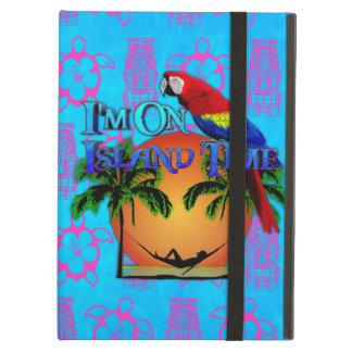 Island Time In Hammock iPad Folio Case