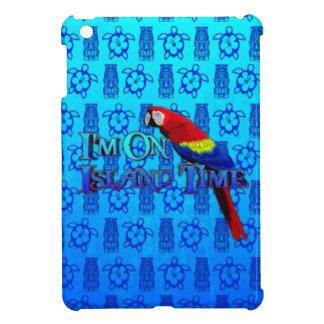Island Time Parrot iPad Mini Covers