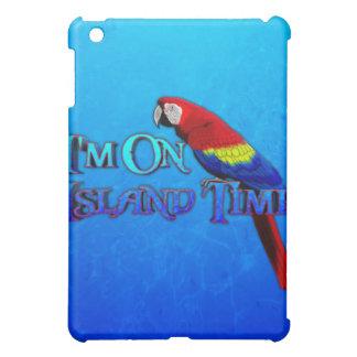 Island Time Parrot iPad Mini Cover