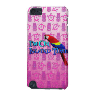 Island Time Parrot iPod Touch (5th Generation) Cases