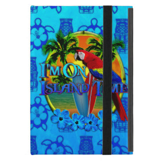 Island Time Sunset And Tikis iPad Mini Cover