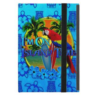 Island Time Sunset And Tikis iPad Mini Covers