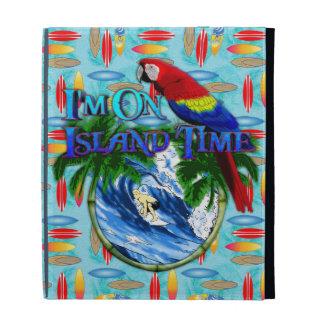Island Time Surfing iPad Case
