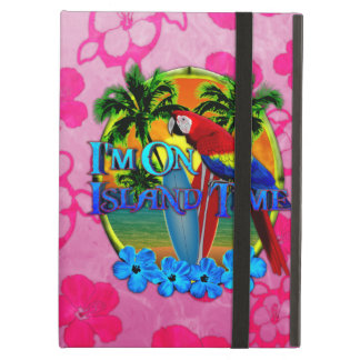 Island Time Surfing iPad Cover