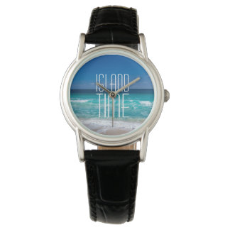 Island Time Tropical Beach Turquoise Water Watch