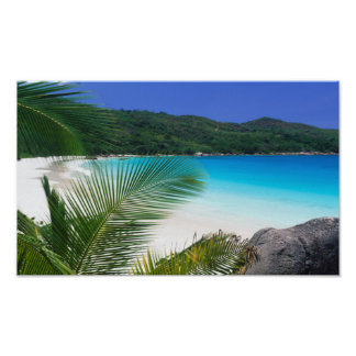 Island Time Tropical Paradise Poster