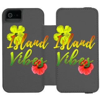 Island Vibes Incipio Watson™ iPhone 5 Wallet Case