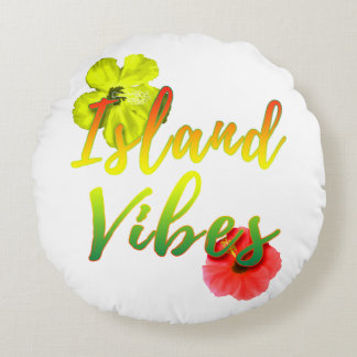 Island Vibes Round Cushion