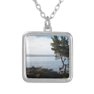 Island View, St Joseph Island, Ontario Silver Plated Necklace