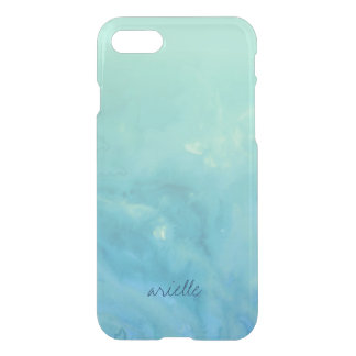 Island Waters | Tropical Blue Green Watercolor iPhone 8/7 Case