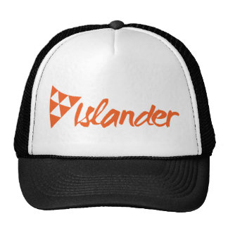 Islander Trucker Cap Black Mesh Hat