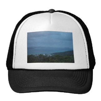 Islands And Headlands Fading Into The Drizzle At M Trucker Hats