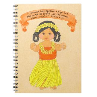 Islands Rejoice~Hawaiian~Scripture Notebook