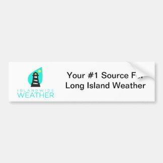 Islandwide Weather Bumper Sticker