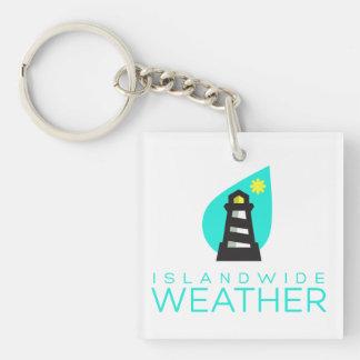 Islandwide Weather Key Chain