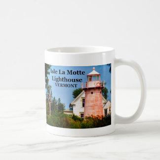 Isle La Motte Lighthouse, Vermont Mug