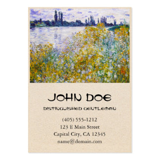 Isle of Flowers on the Seine near Vetheuil Pack Of Chubby Business Cards