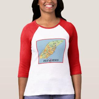 Isle of Jesus/God loves you T-shirt