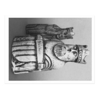 Isle of Lewis Chessmen postcard