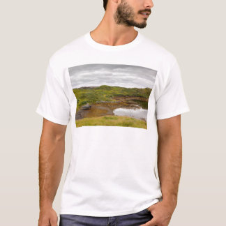 Isle of Lewis, Outer Hebrides, Scotland. Boat at h T-Shirt