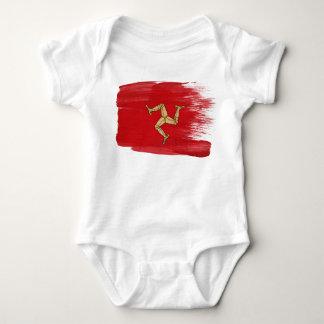 Isle of Man Flag Baby Bodysuit